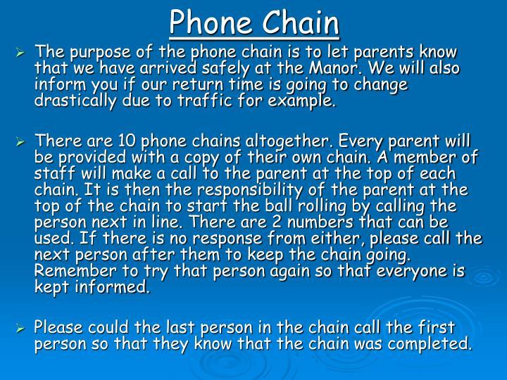Phone Chain