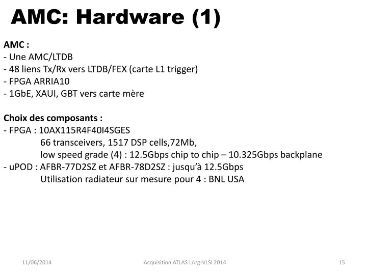 AMC: Hardware (1)