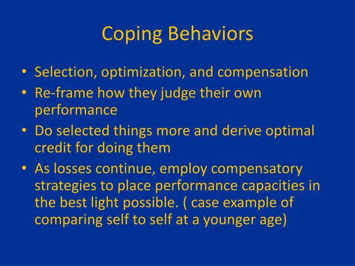 Coping Behaviors