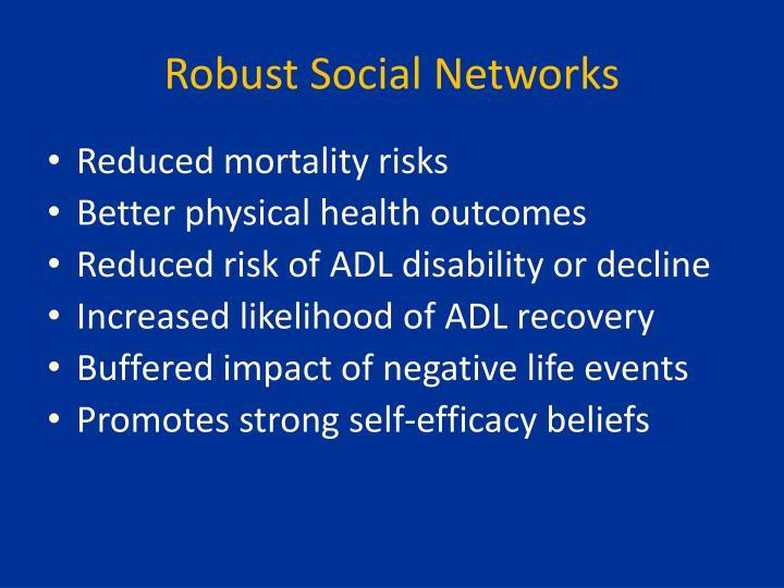 Robust Social Networks