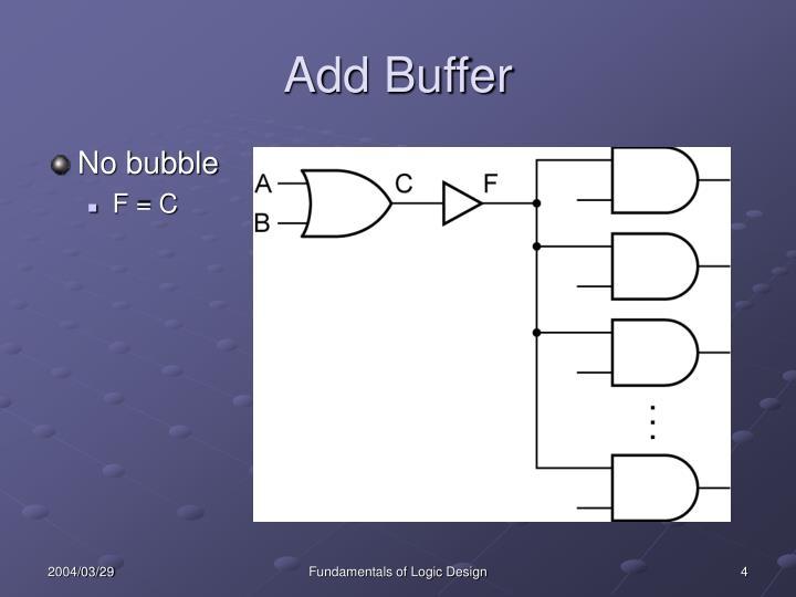 Add Buffer