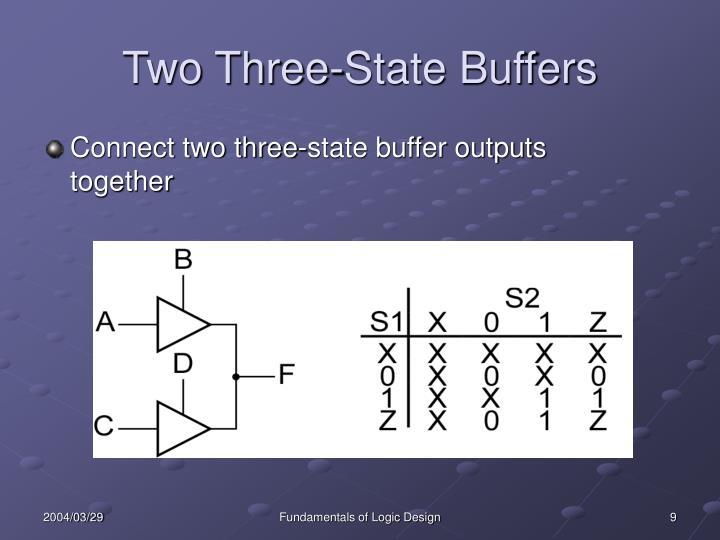 Two Three-State Buffers