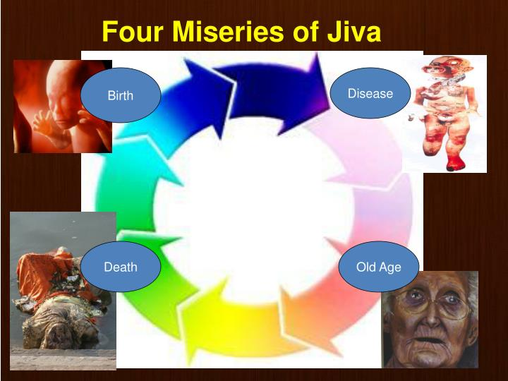 Four Miseries of Jiva