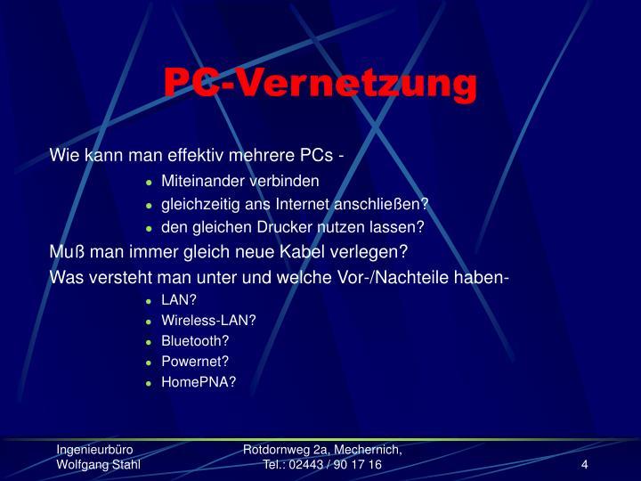 PC-Vernetzung