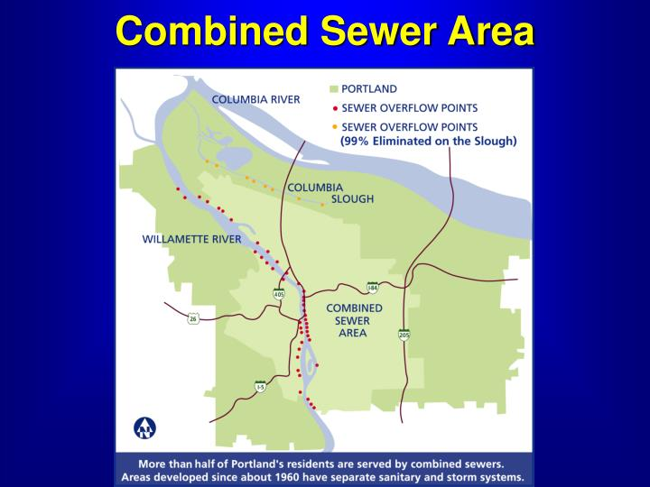 Combined Sewer Area