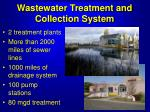 wastewater treatment and collection system