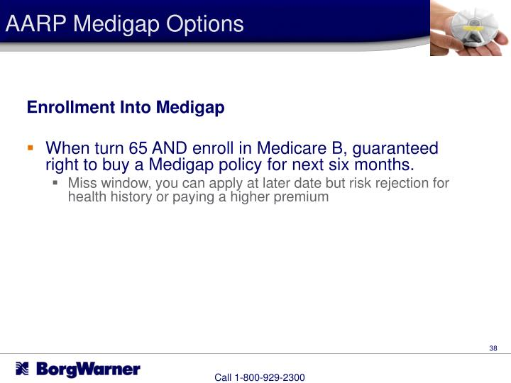 AARP Medigap Options