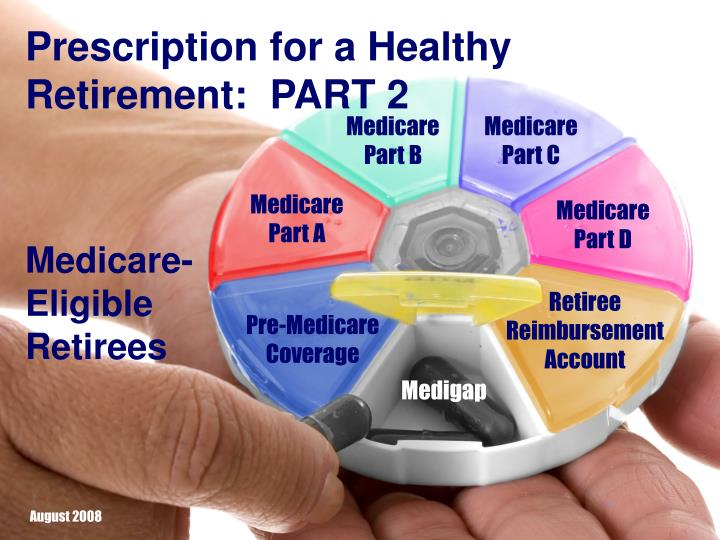 Prescription for a Healthy Retirement:  PART 2