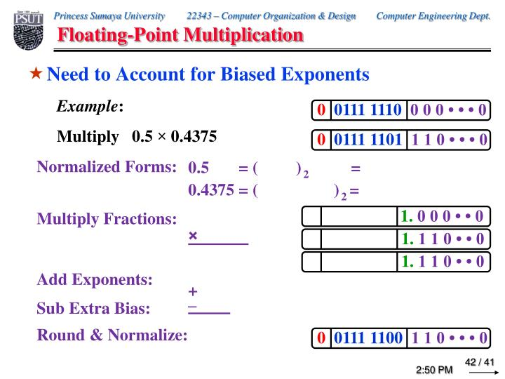 Floating-Point Multiplication