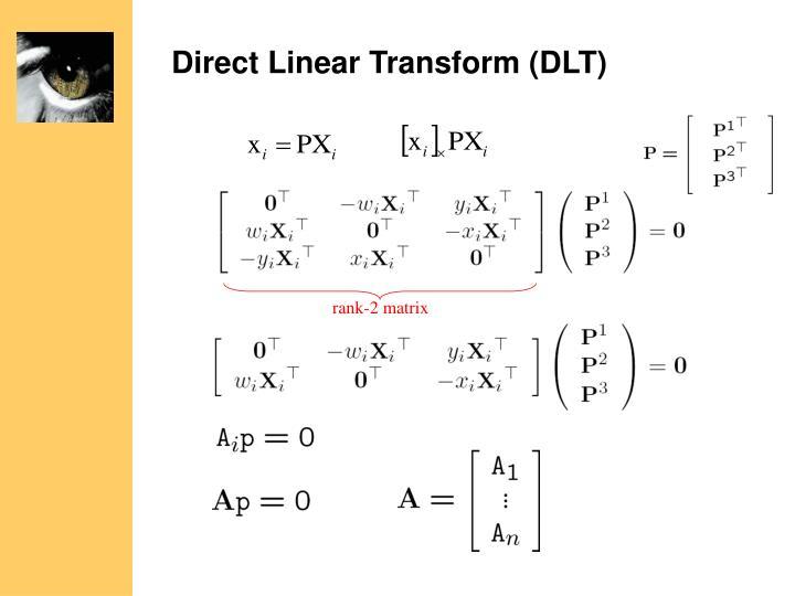 Direct Linear Transform (DLT)