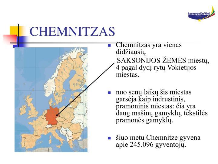 CHEMNITZAS