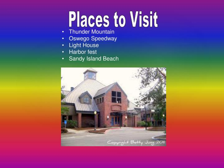 Places to Visit