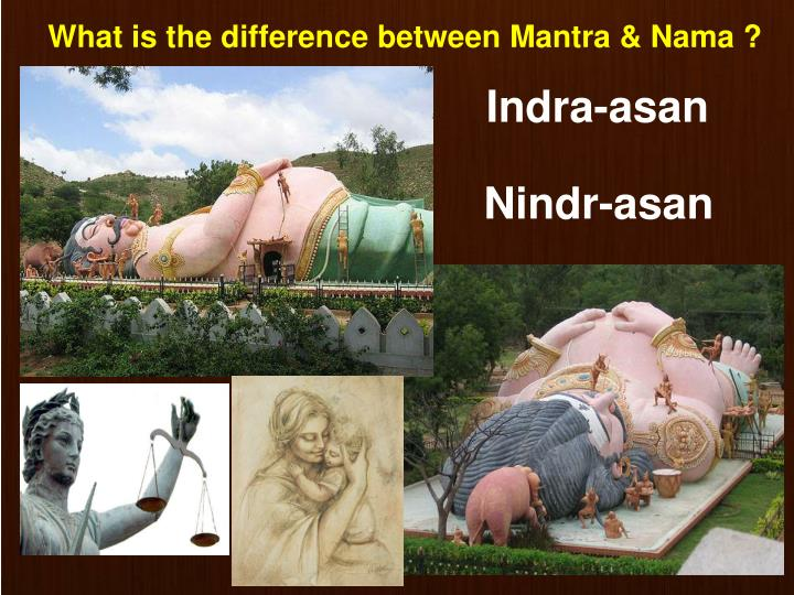 What is the difference between Mantra & Nama ?