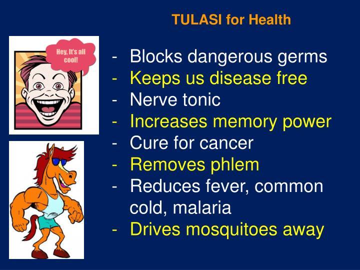 TULASI for Health