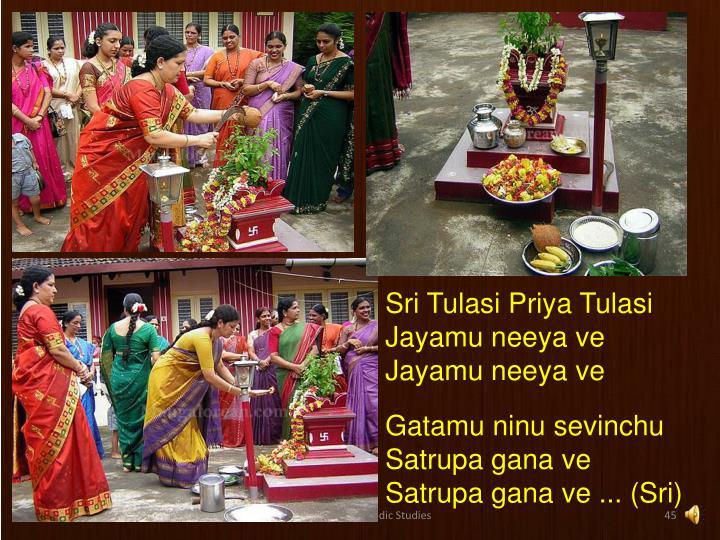 Sri Tulasi Priya Tulasi
