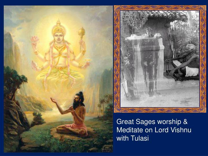 Great Sages worship &