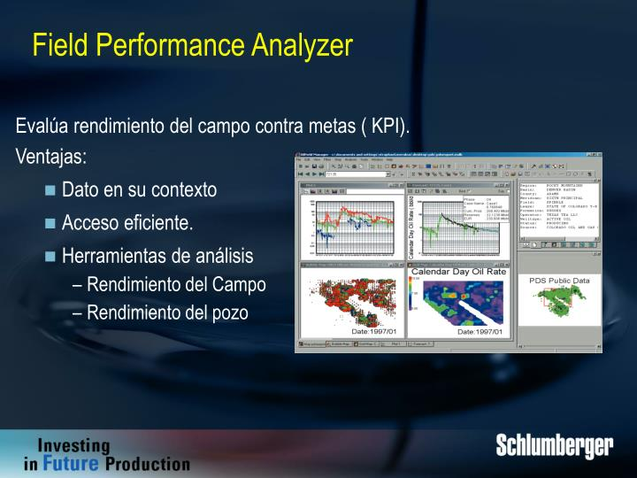 Field Performance Analyzer