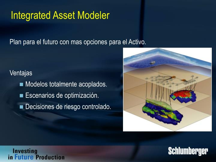 Integrated Asset Modeler
