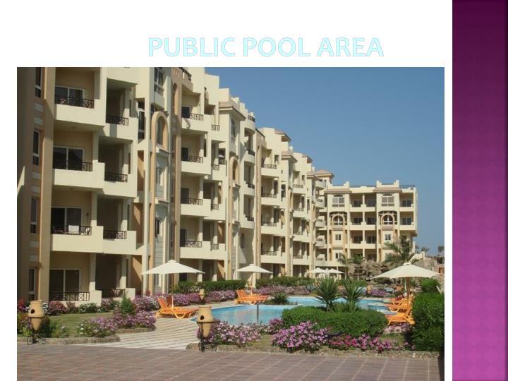 Public Pool Area
