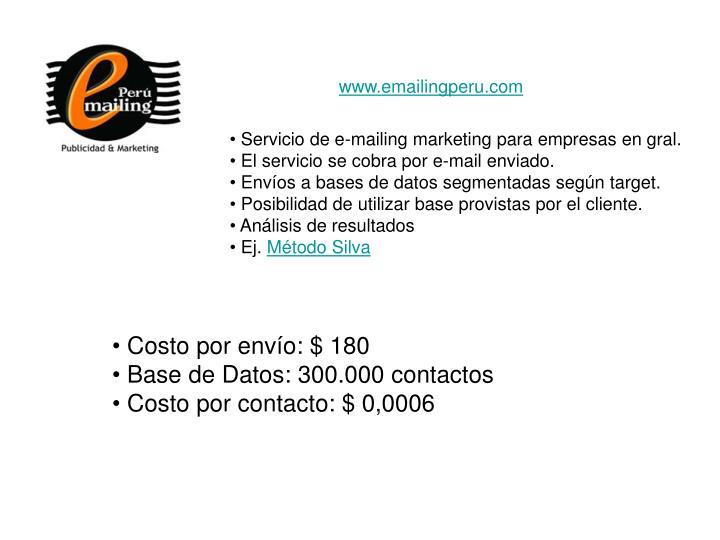 www.emailingperu.com