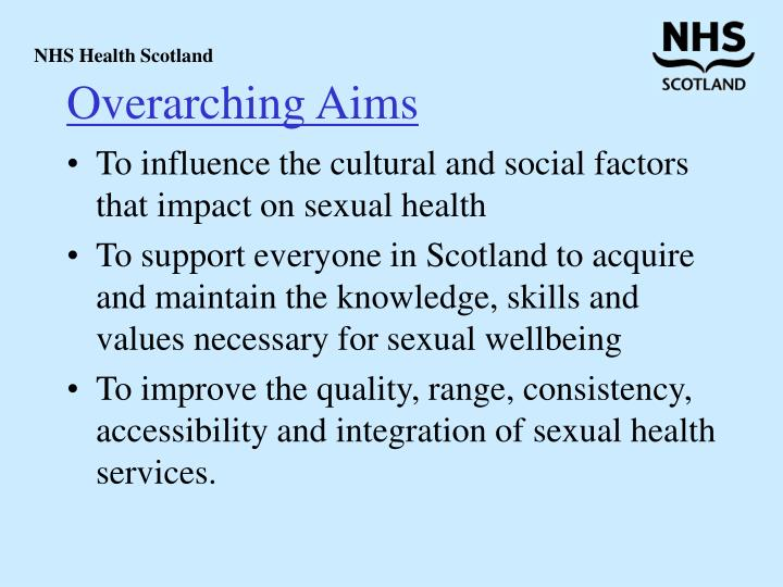 Overarching Aims