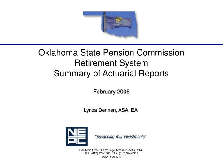 Oklahoma State Pension Commission