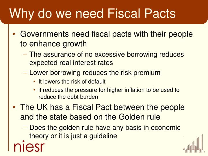 Why do we need Fiscal Pacts