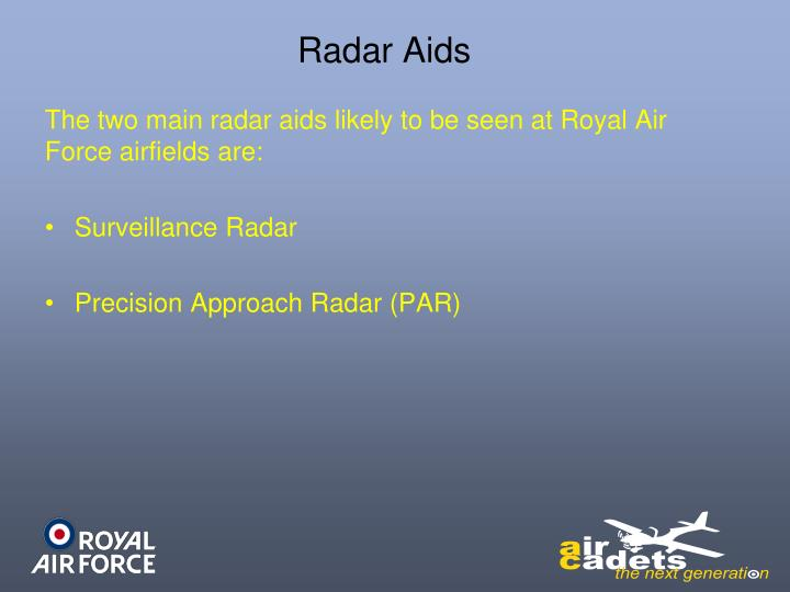 Radar Aids