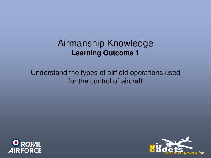 Airmanship Knowledge