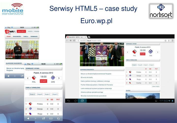 Serwisy HTML5 –