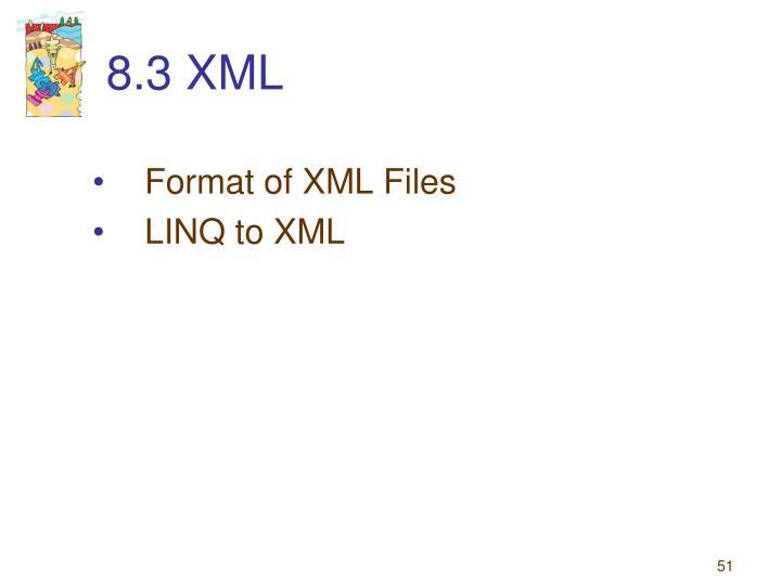 8.3 XML
