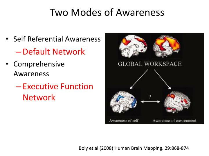 Two Modes of Awareness