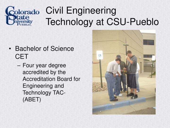Civil Engineering Technology at CSU-Pueblo