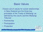 basic values1