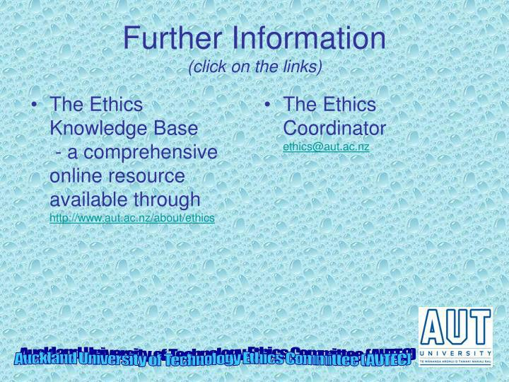 The Ethics Knowledge Base