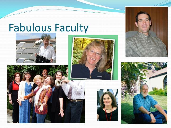 Fabulous Faculty