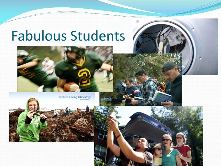 Fabulous Students