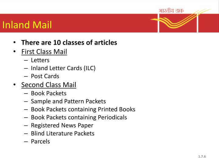 Inland Mail