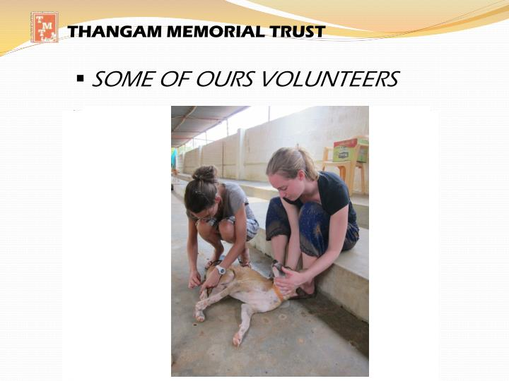THANGAM MEMORIAL TRUST
