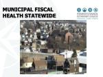 municipal fiscal health statewide