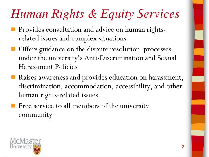 Human Rights & Equity Services