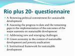 rio plus 20 questionnaire1
