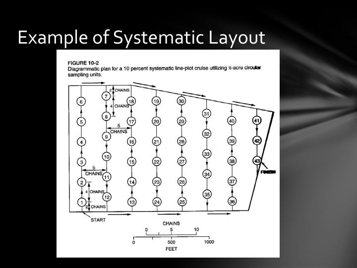 Example of Systematic Layout