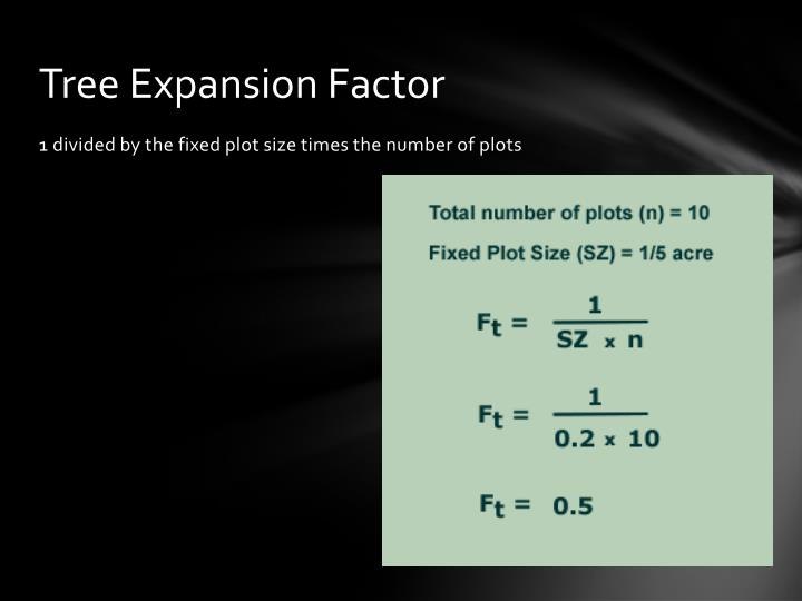 Tree Expansion Factor