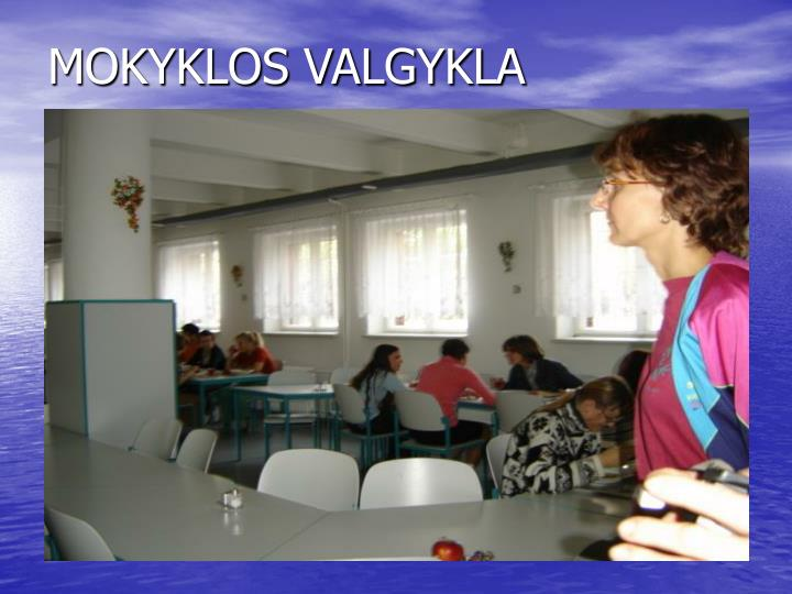 MOKYKLOS VALGYKLA