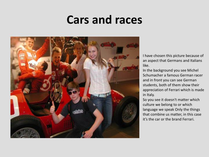 Cars and races