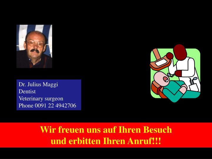 Dr. Julius Maggi