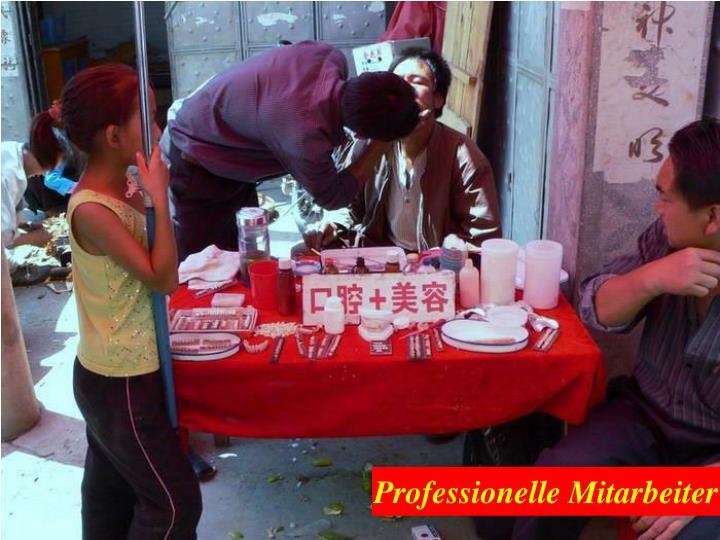 Professionelle Mitarbeiter