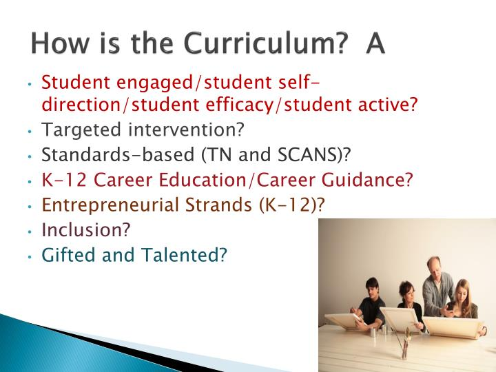 How is the Curriculum?  A