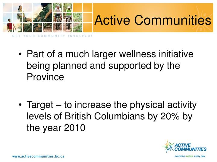 Active Communities